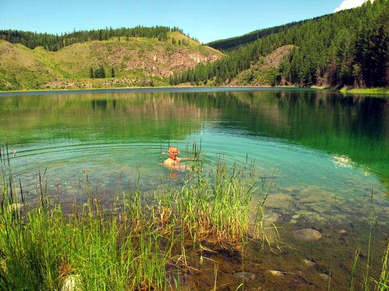изумрудное озеро Учькуль